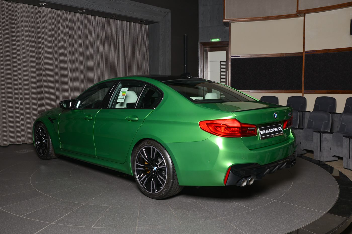 BMW M5 Competition In Rally Green (17)