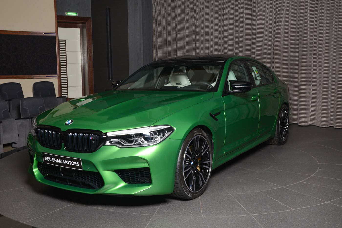 BMW M5 Competition In Rally Green (2)