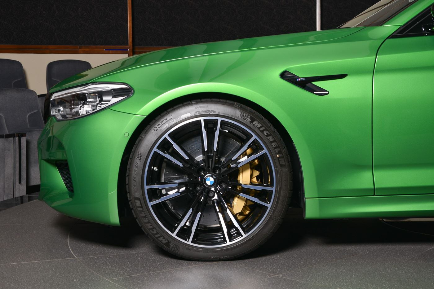 BMW M5 Competition In Rally Green (3)
