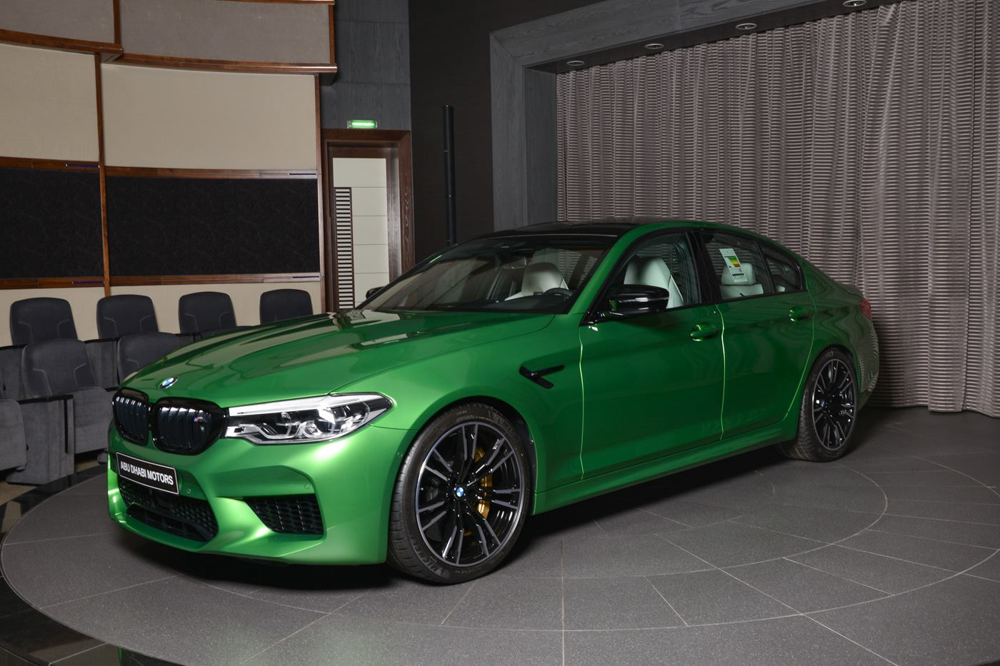 BMW M5 Competition In Rally Green (4)