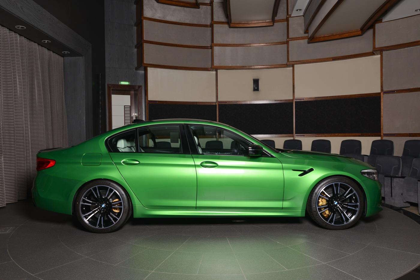 BMW M5 Competition In Rally Green (9)