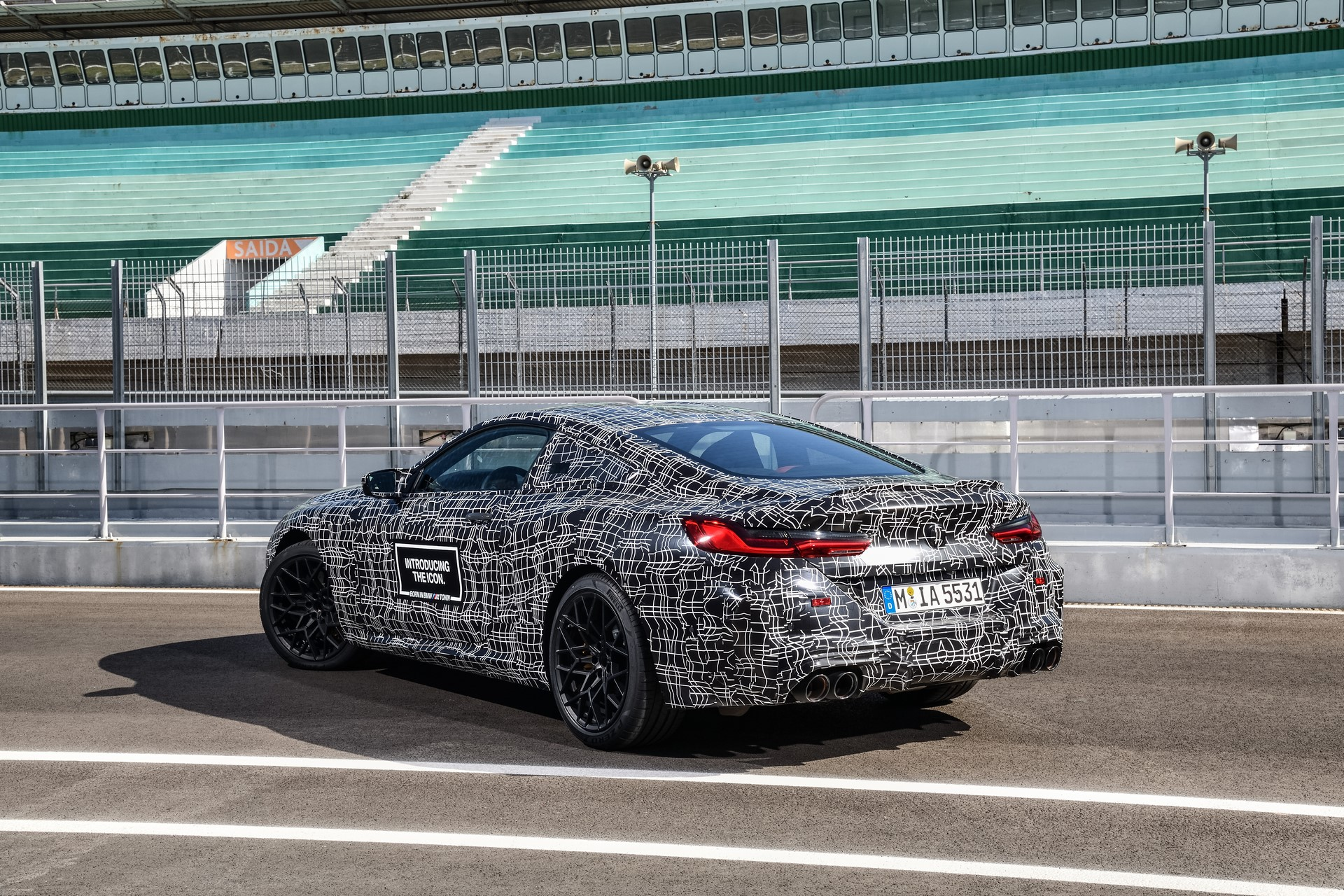 BMW M8 2019 Official Spy Photos (10)
