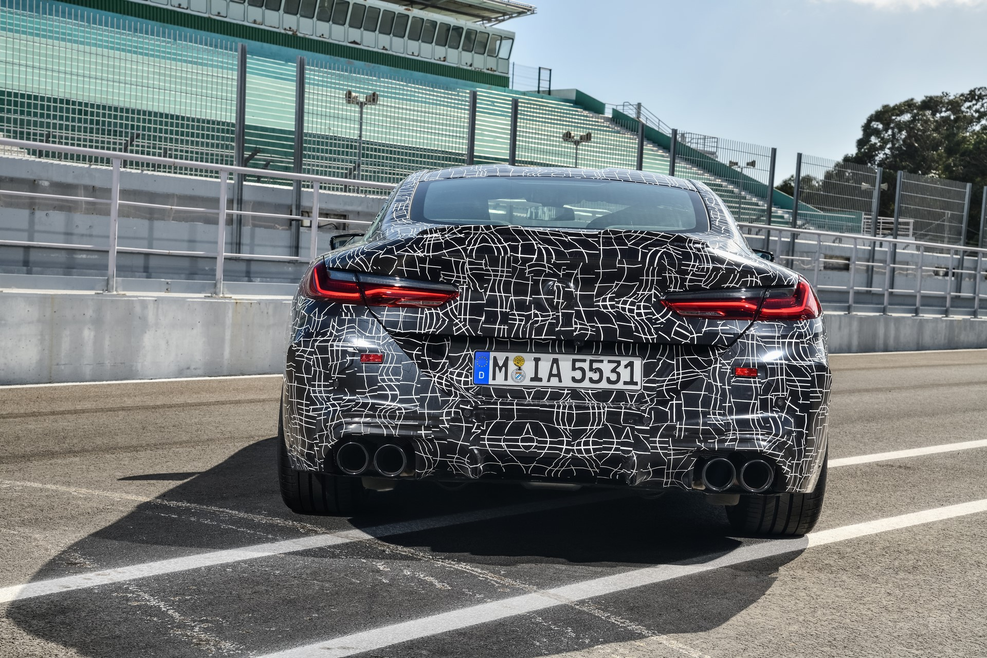 BMW M8 2019 Official Spy Photos (14)