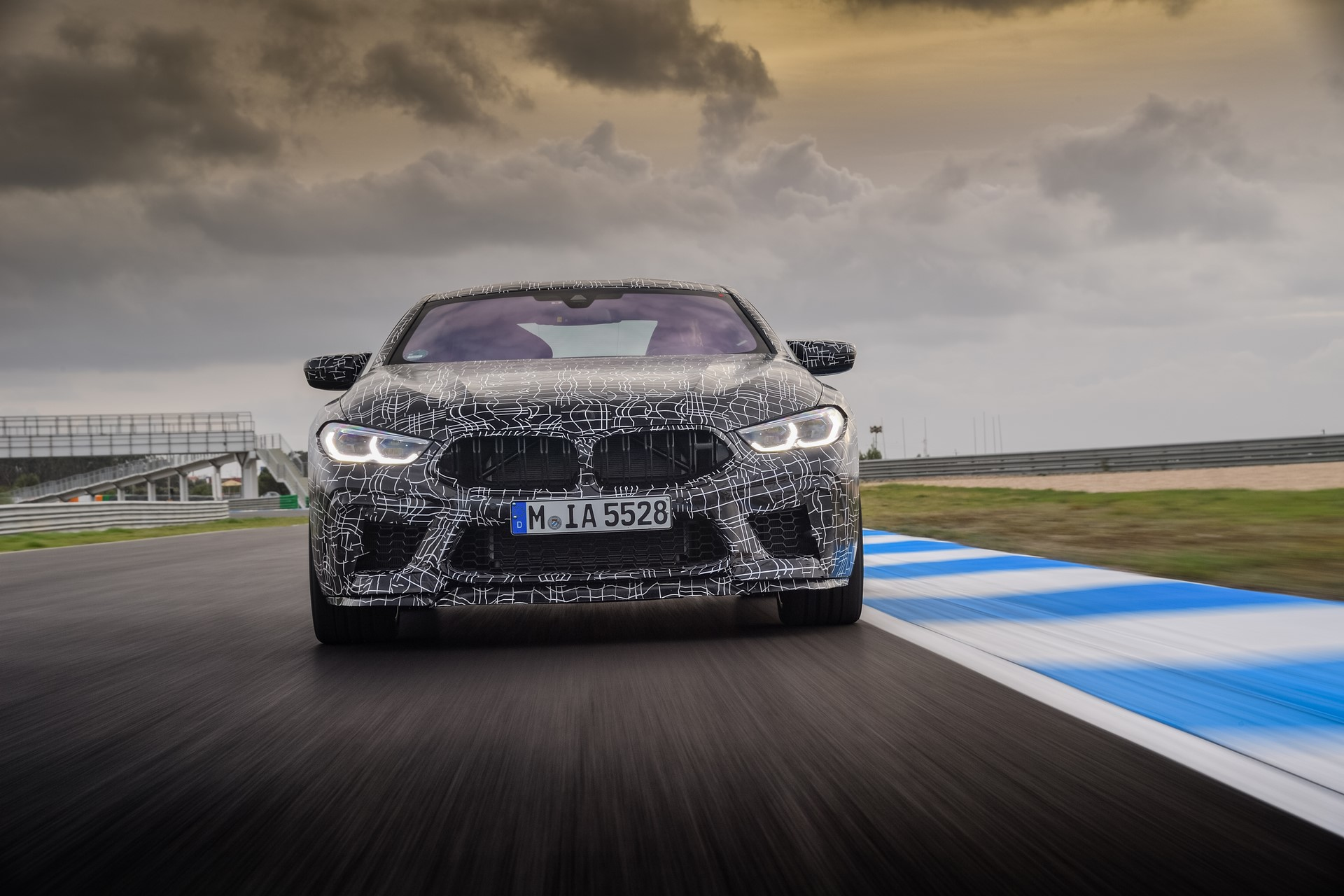 BMW M8 2019 Official Spy Photos (15)