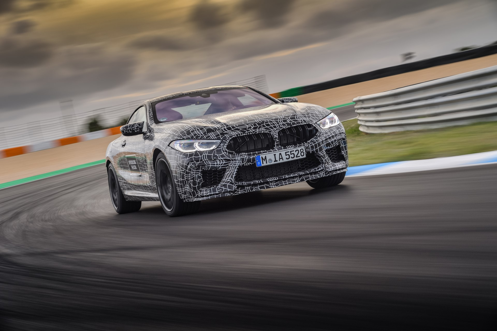 BMW M8 2019 Official Spy Photos (18)