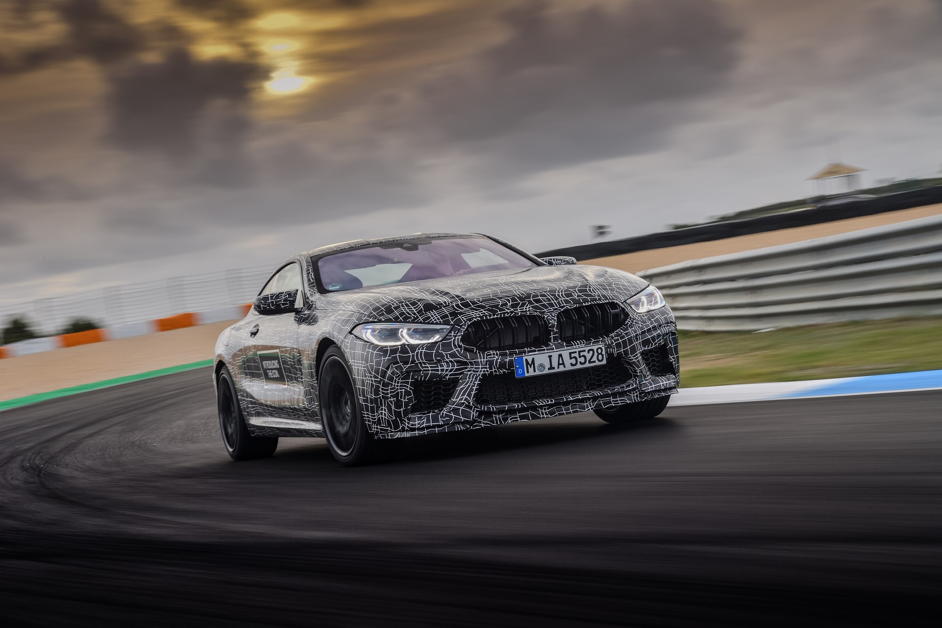 BMW M8 2019 Official Spy Photos (20)