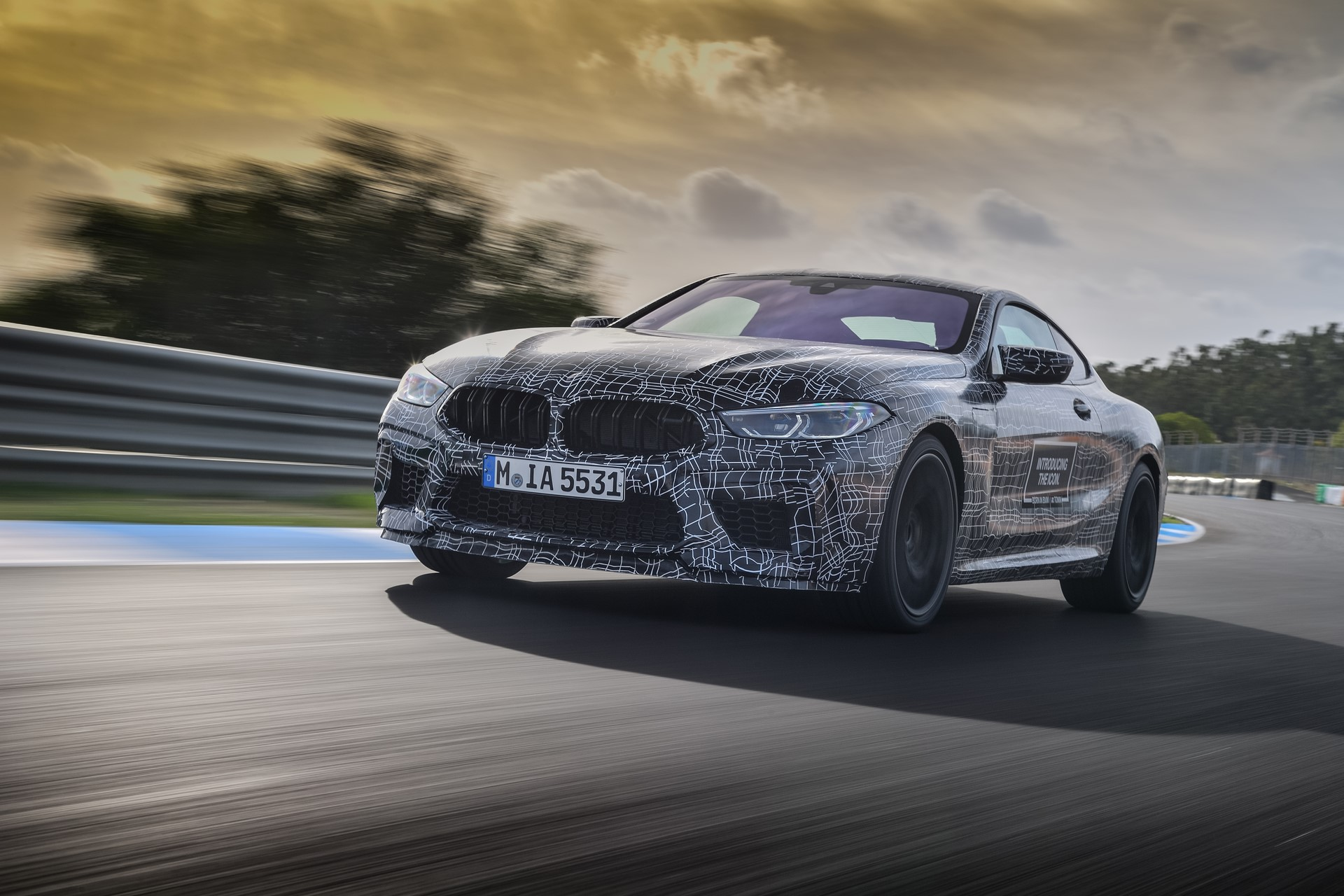 BMW M8 2019 Official Spy Photos (21)
