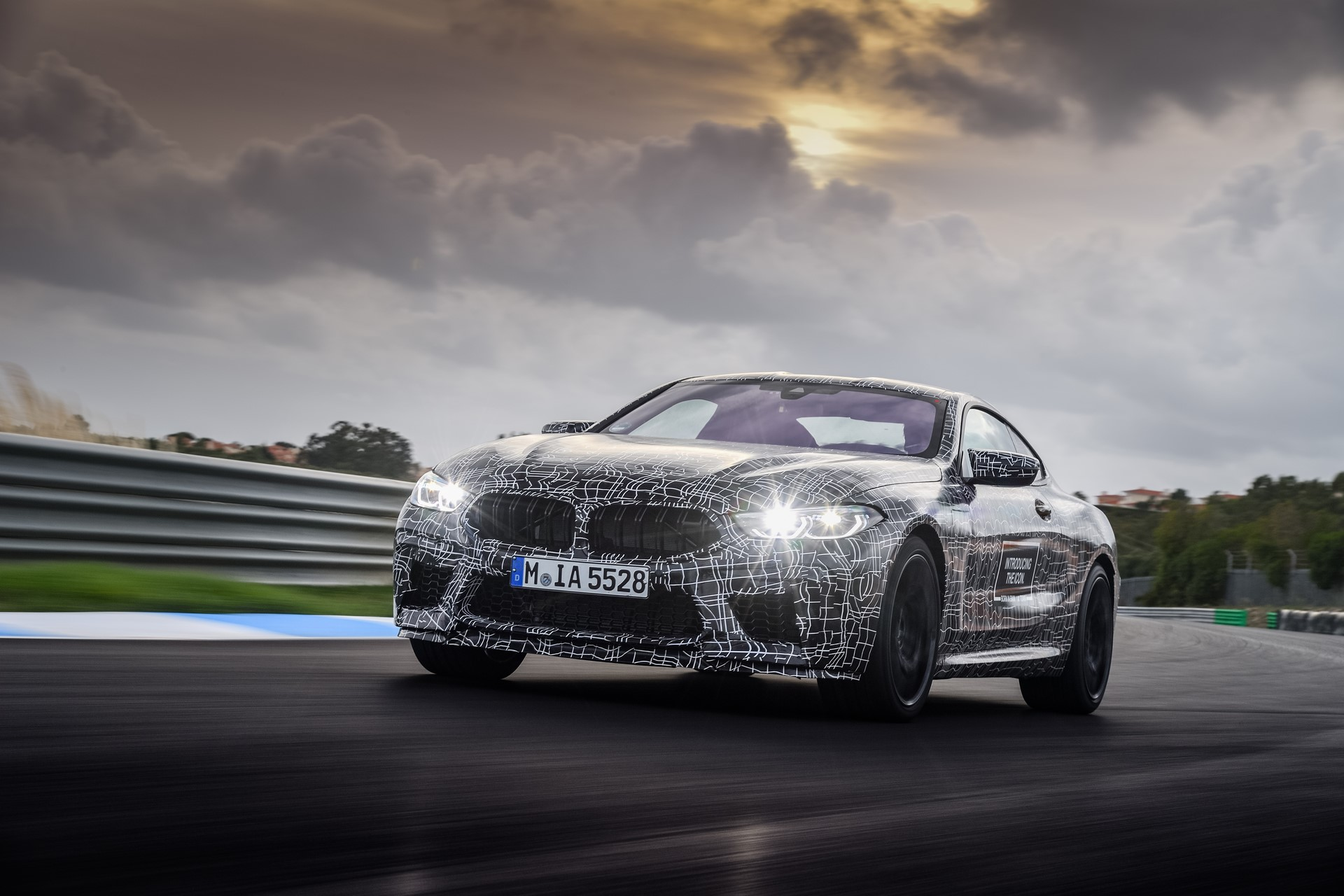 BMW M8 2019 Official Spy Photos (23)