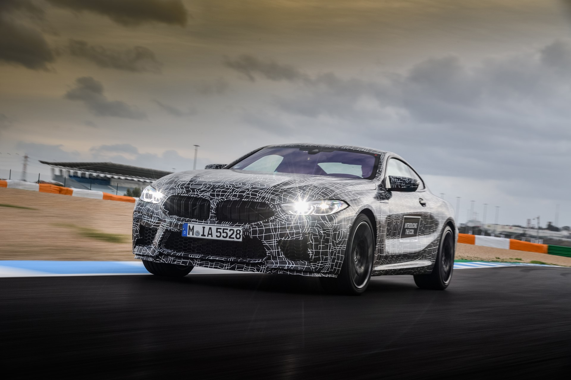 BMW M8 2019 Official Spy Photos (24)