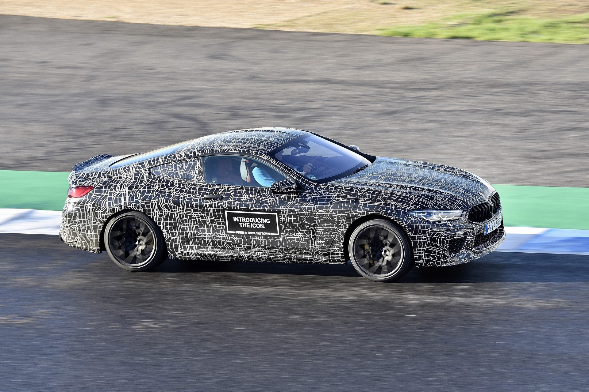 BMW M8 2019 Official Spy Photos (34)