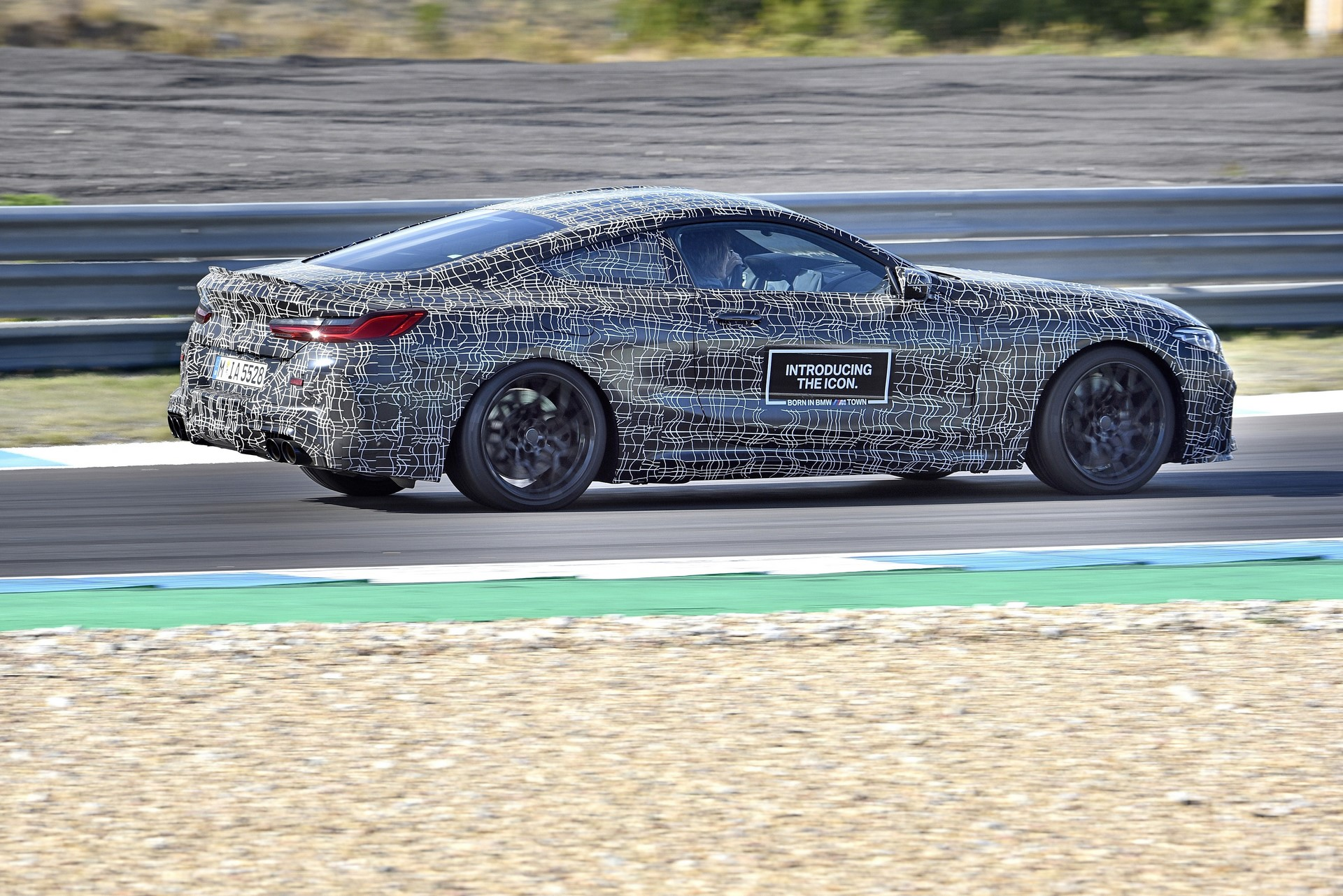 BMW M8 2019 Official Spy Photos (37)