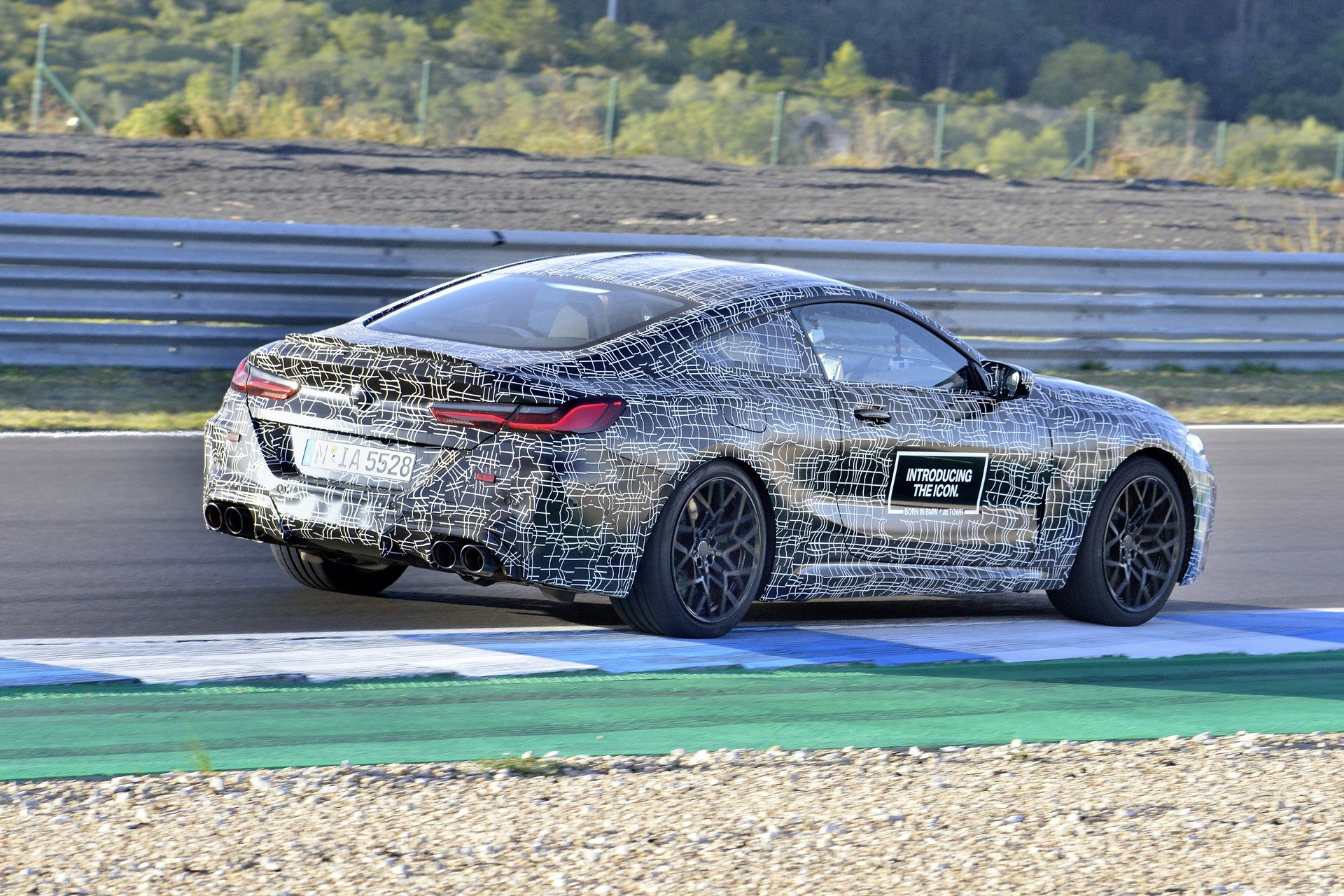 BMW M8 2019 Official Spy Photos (39)