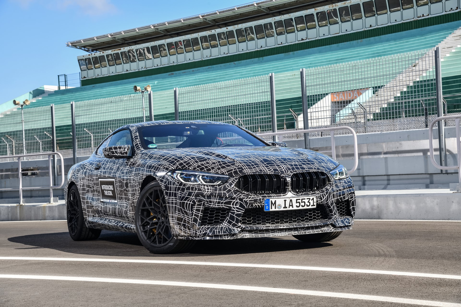 BMW M8 2019 Official Spy Photos (6)