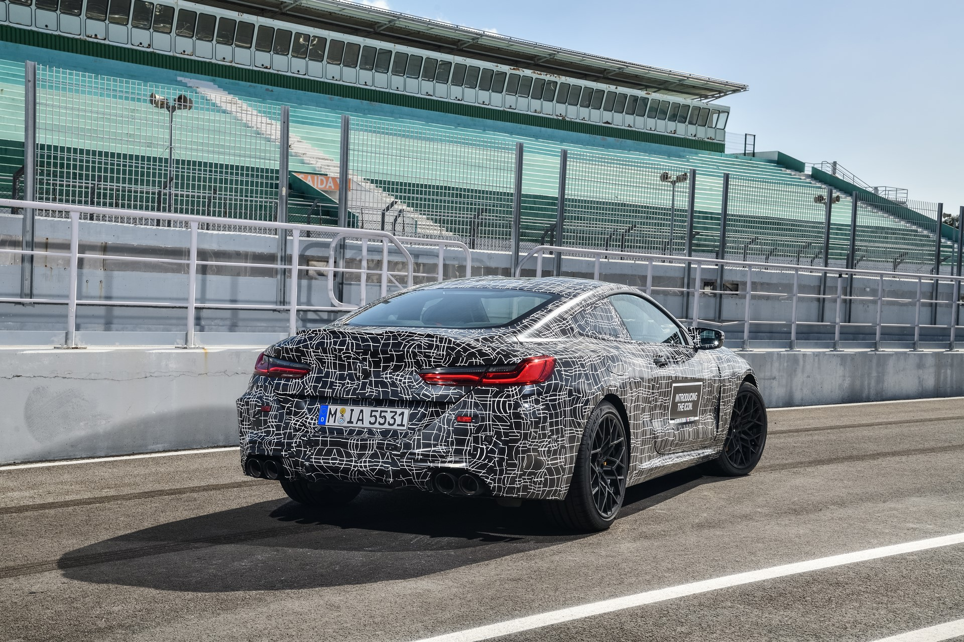 BMW M8 2019 Official Spy Photos (8)