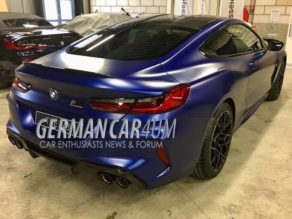 BMW M8 Competition photos (2)