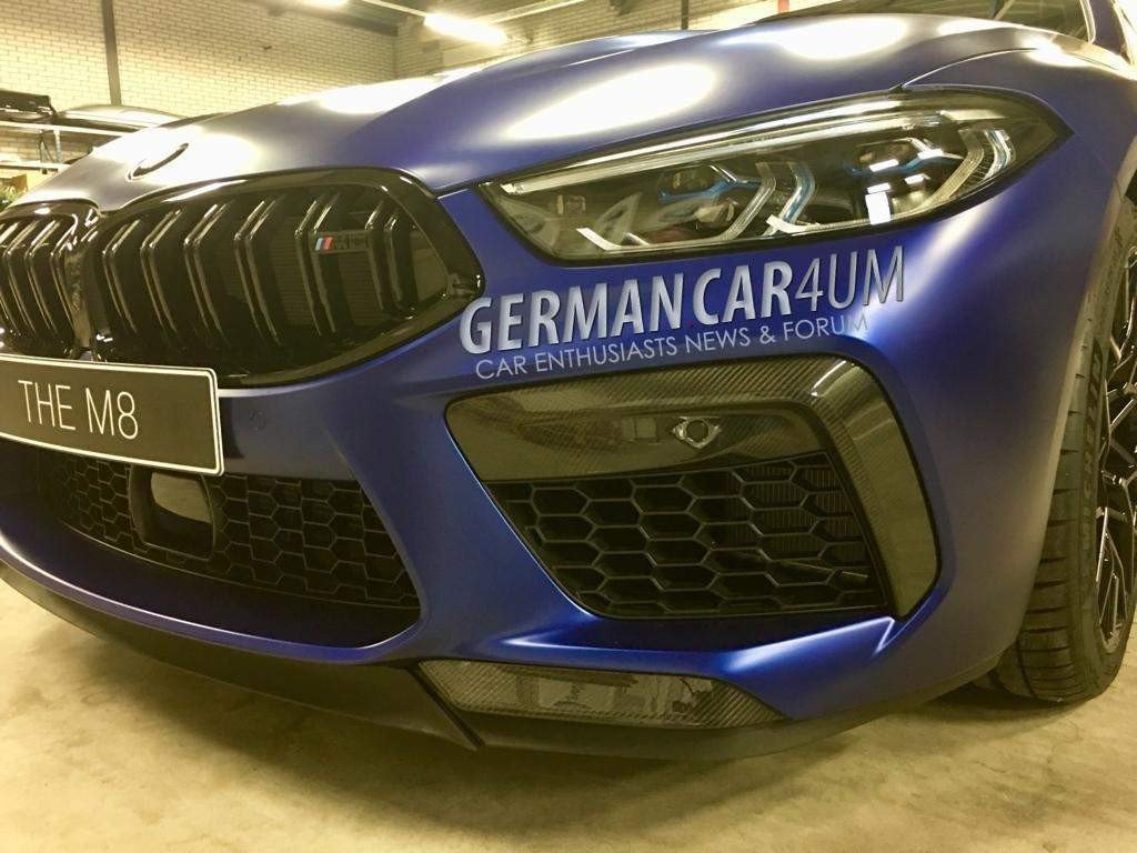 BMW M8 Competition photos (5)
