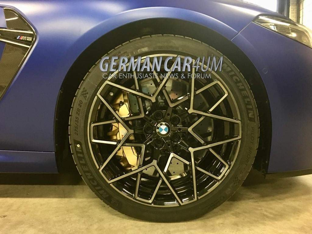 BMW M8 Competition photos (7)