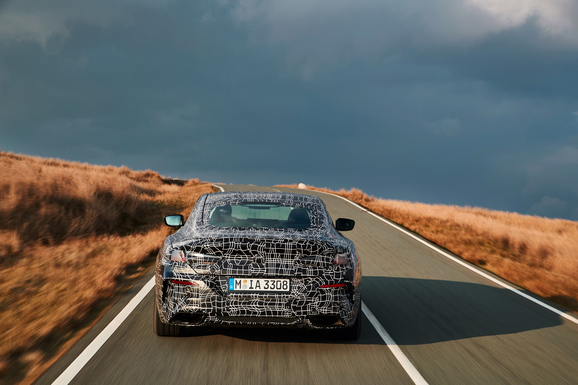 BMW M850i xDrive spy (18)