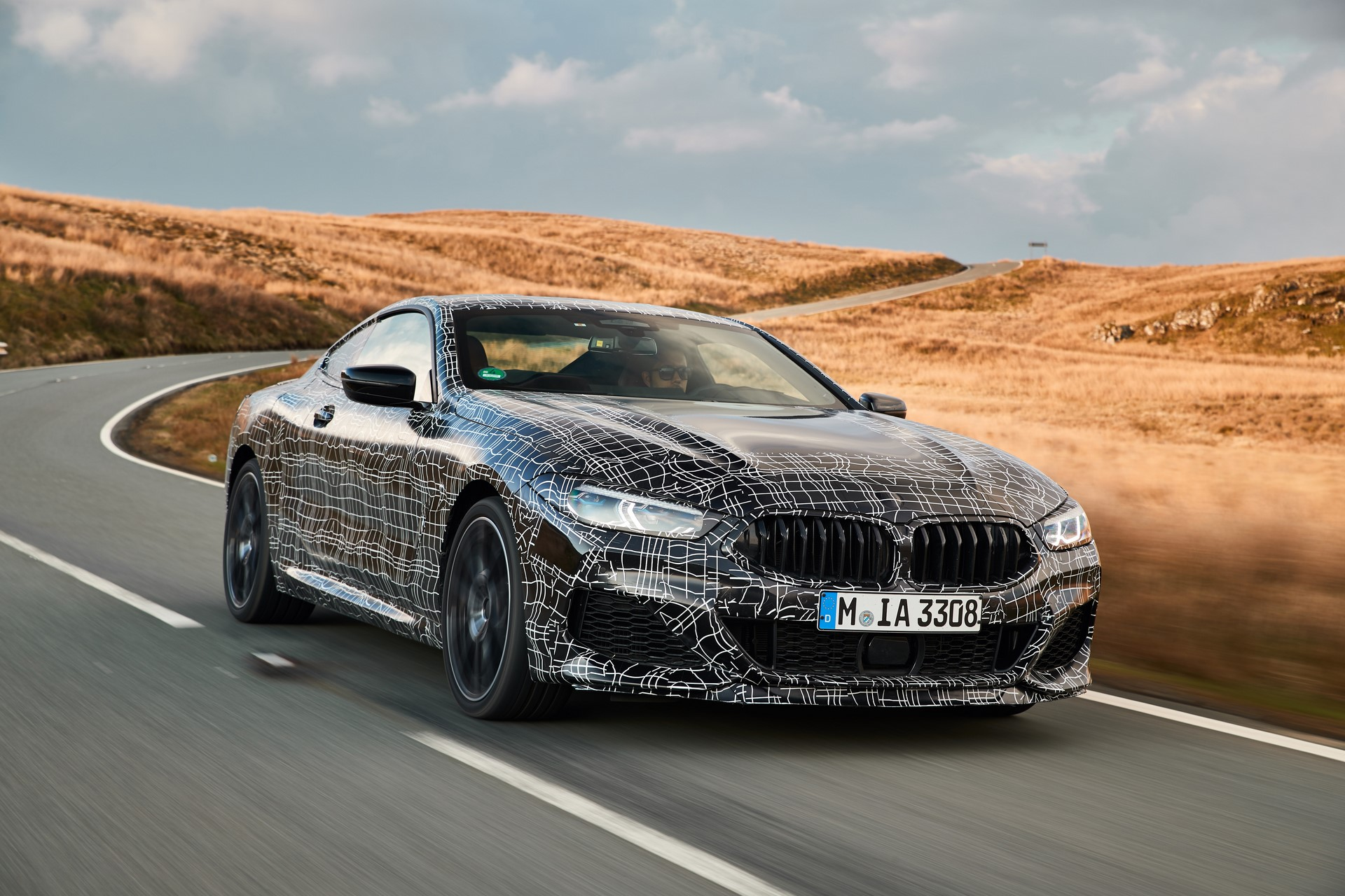 BMW M850i xDrive spy (19)