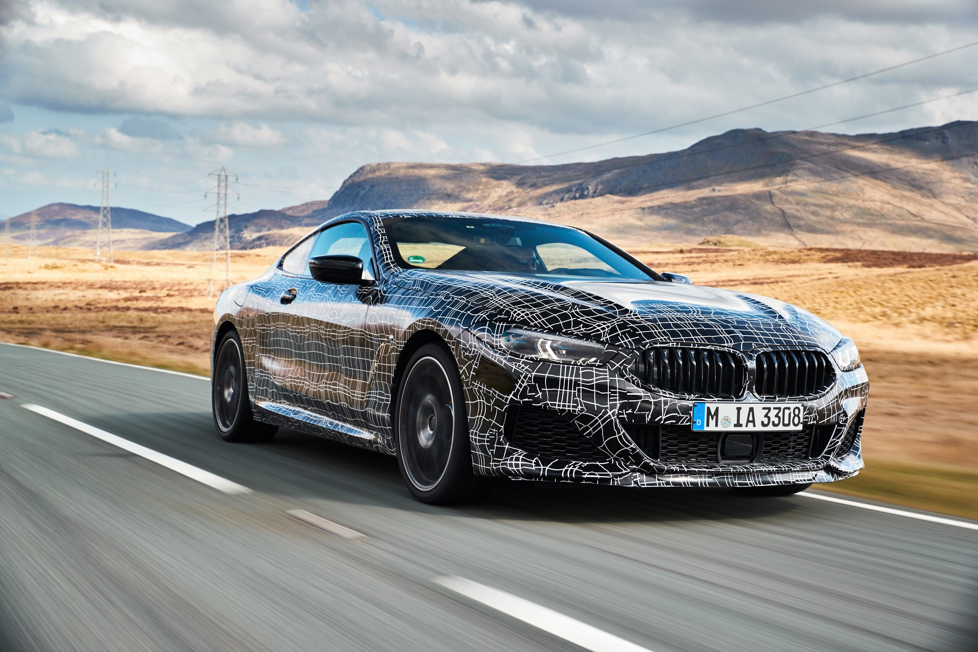 BMW M850i xDrive spy (2)