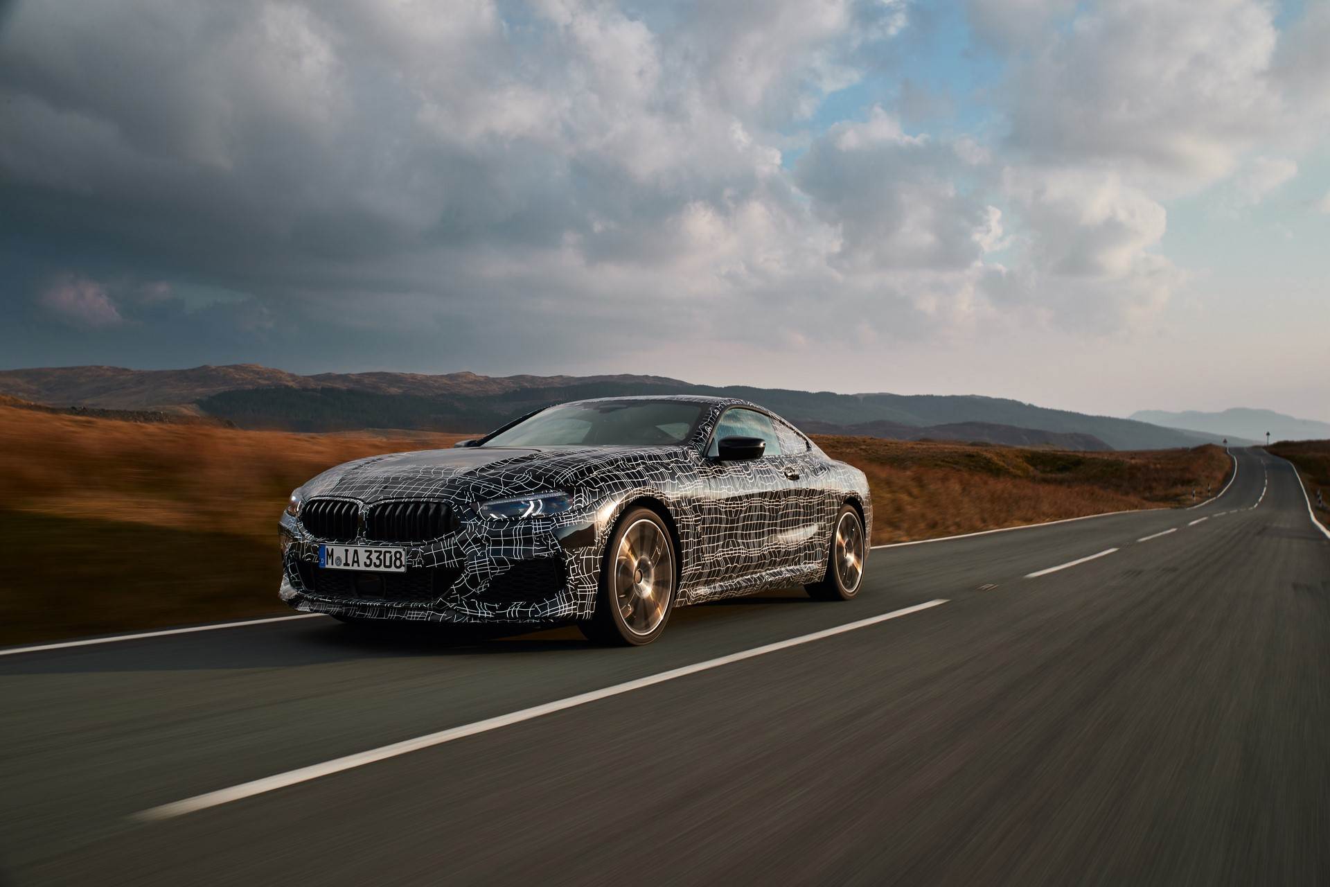 BMW M850i xDrive spy (21)