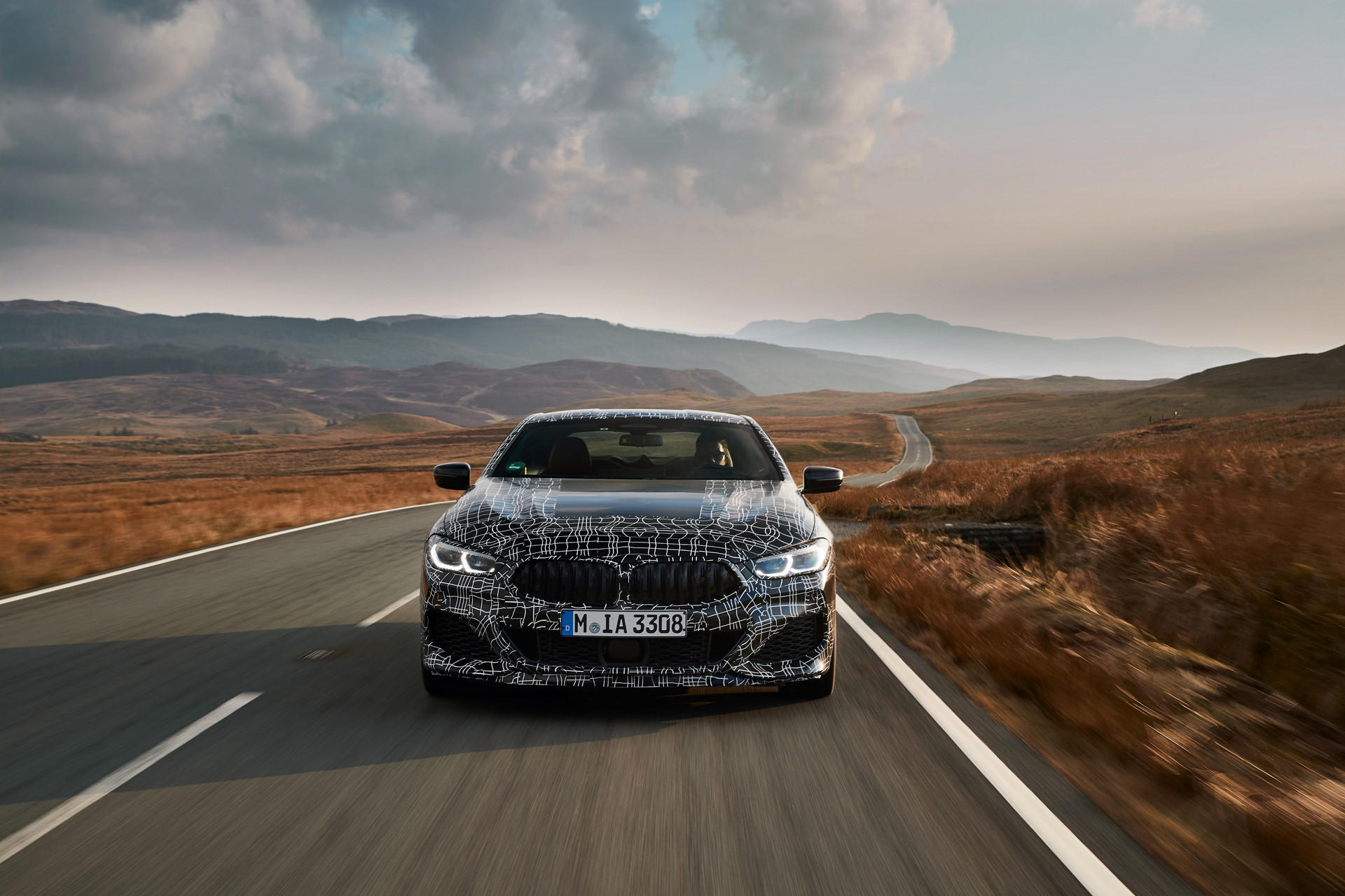 BMW M850i xDrive spy (22)