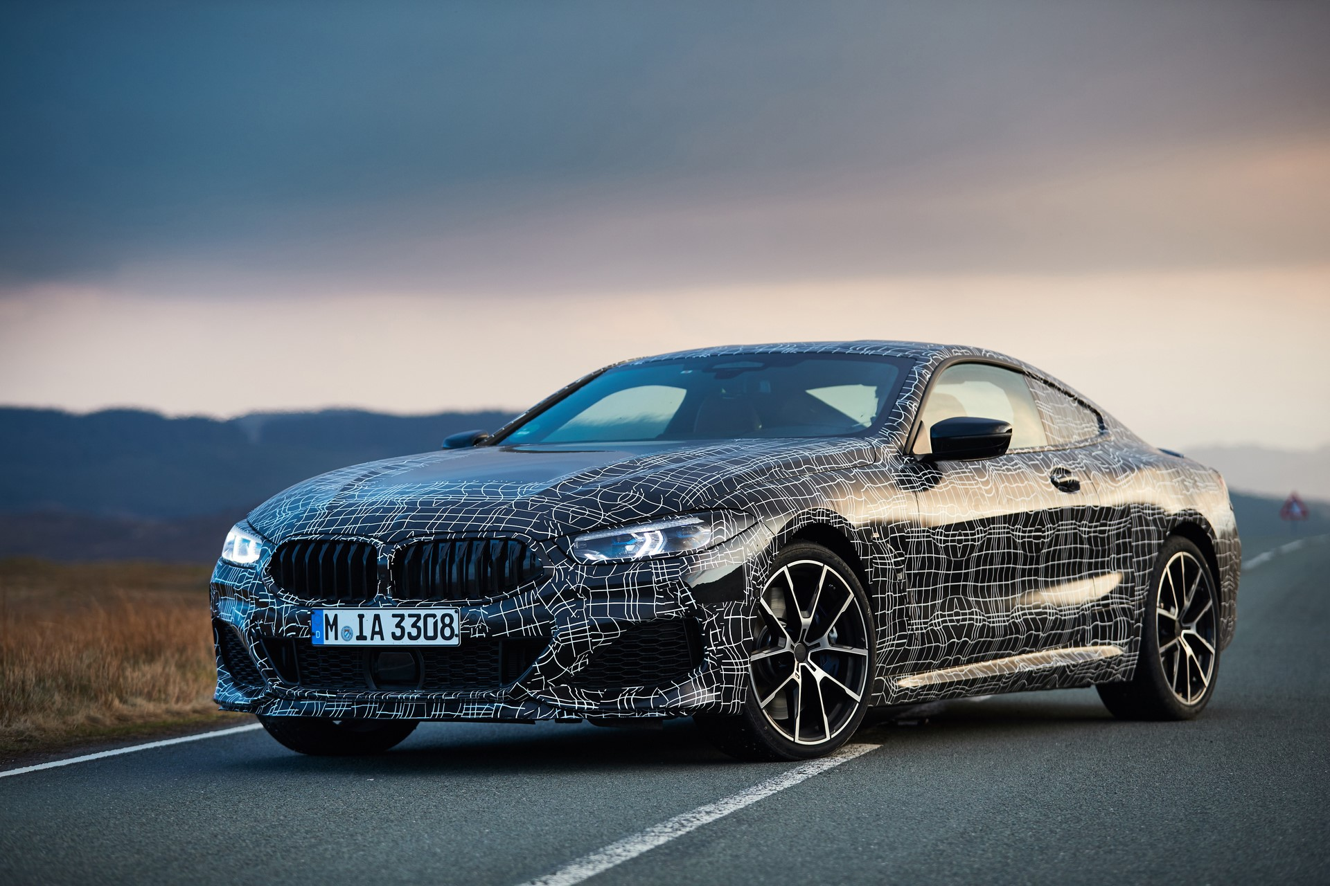 BMW M850i xDrive spy (26)