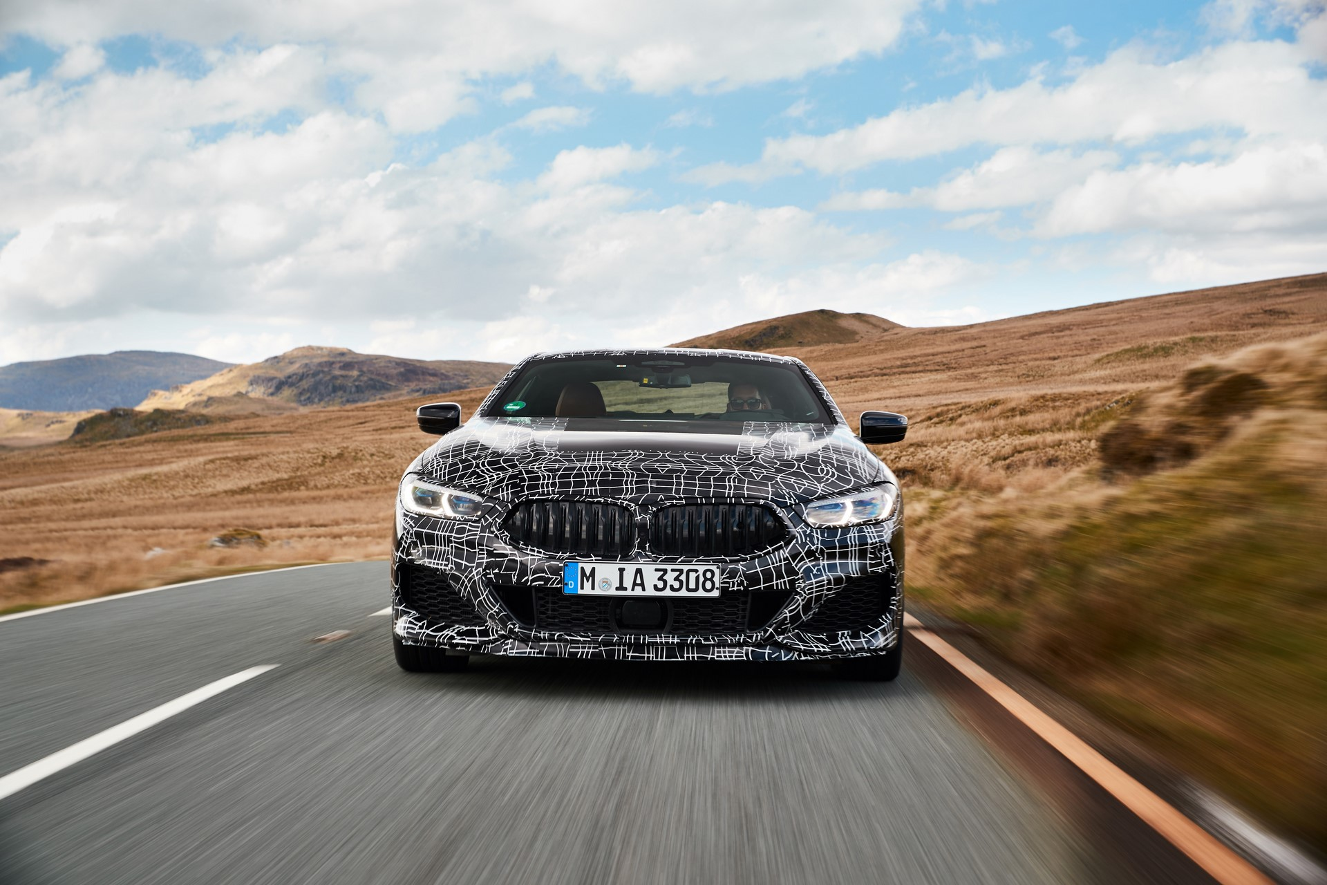 BMW M850i xDrive spy (4)