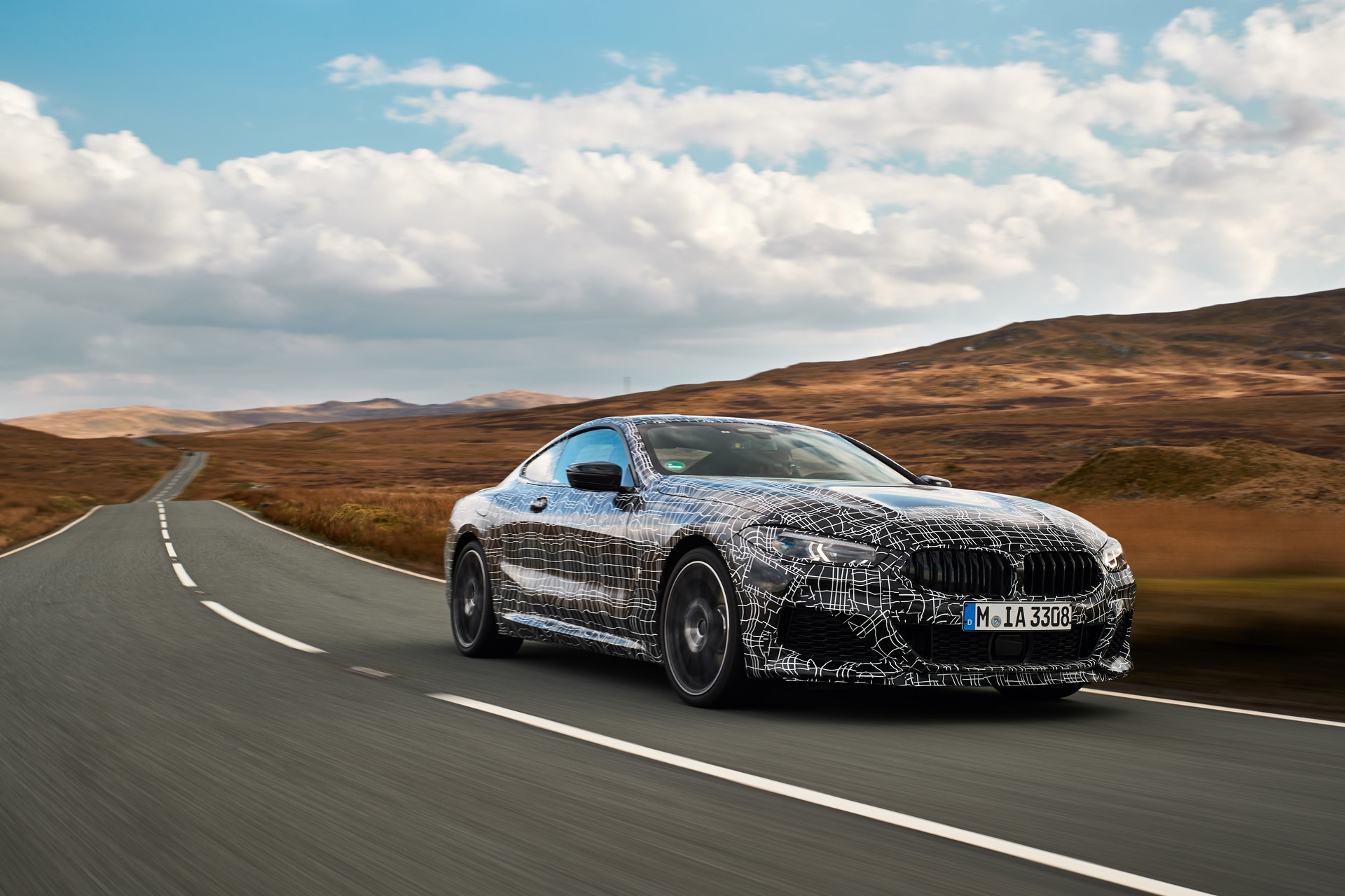 BMW M850i xDrive spy (5)