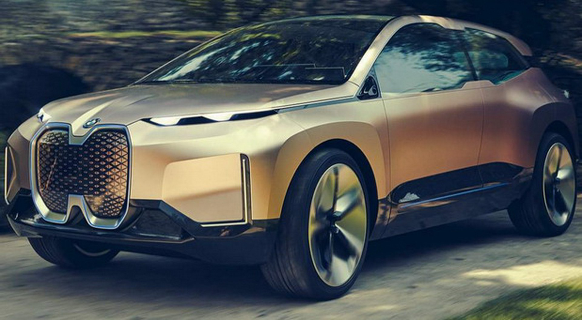 BMW Vision iNEXT Concept leaked photos (2)