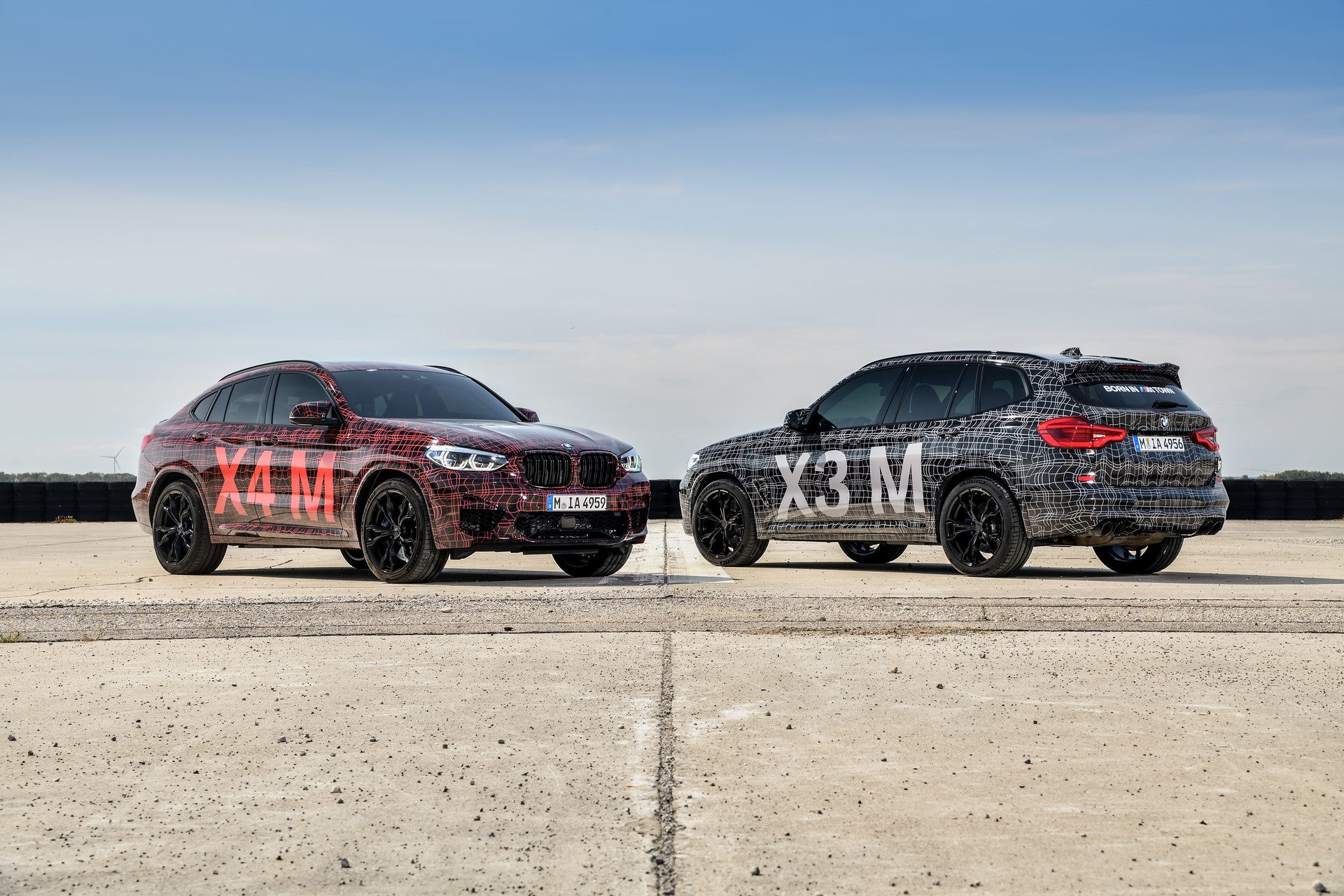 BMW X3 M and BMW X4 M at Nurburgring (1)