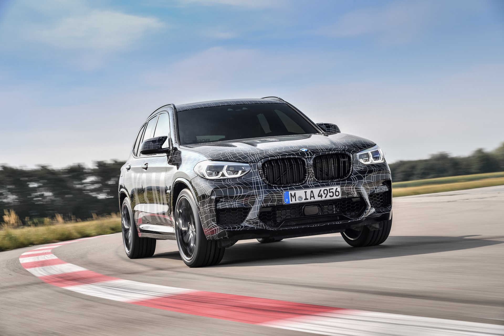 BMW X3 M and BMW X4 M at Nurburgring (13)
