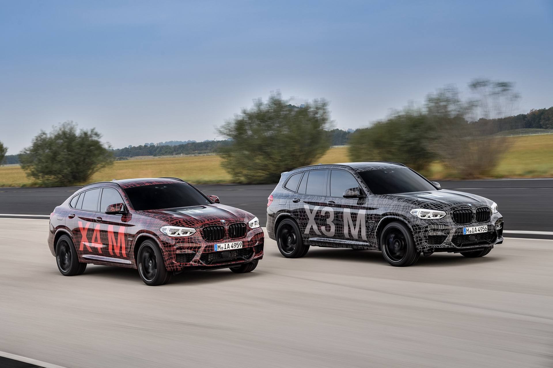 BMW X3 M and BMW X4 M at Nurburgring (2)