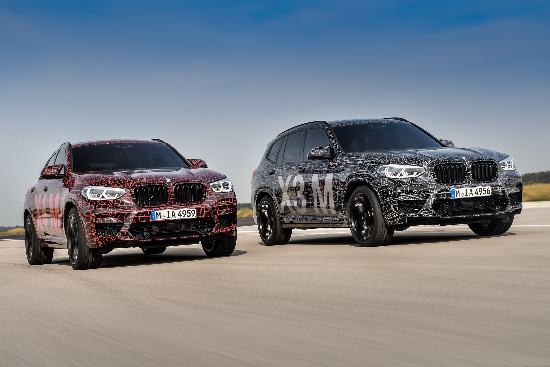 BMW X3 M and BMW X4 M at Nurburgring (3)