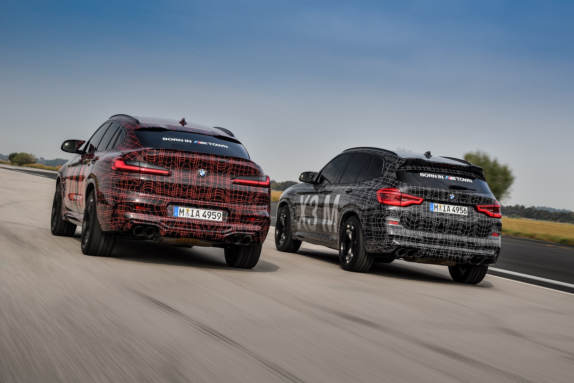 BMW X3 M and BMW X4 M at Nurburgring (4)