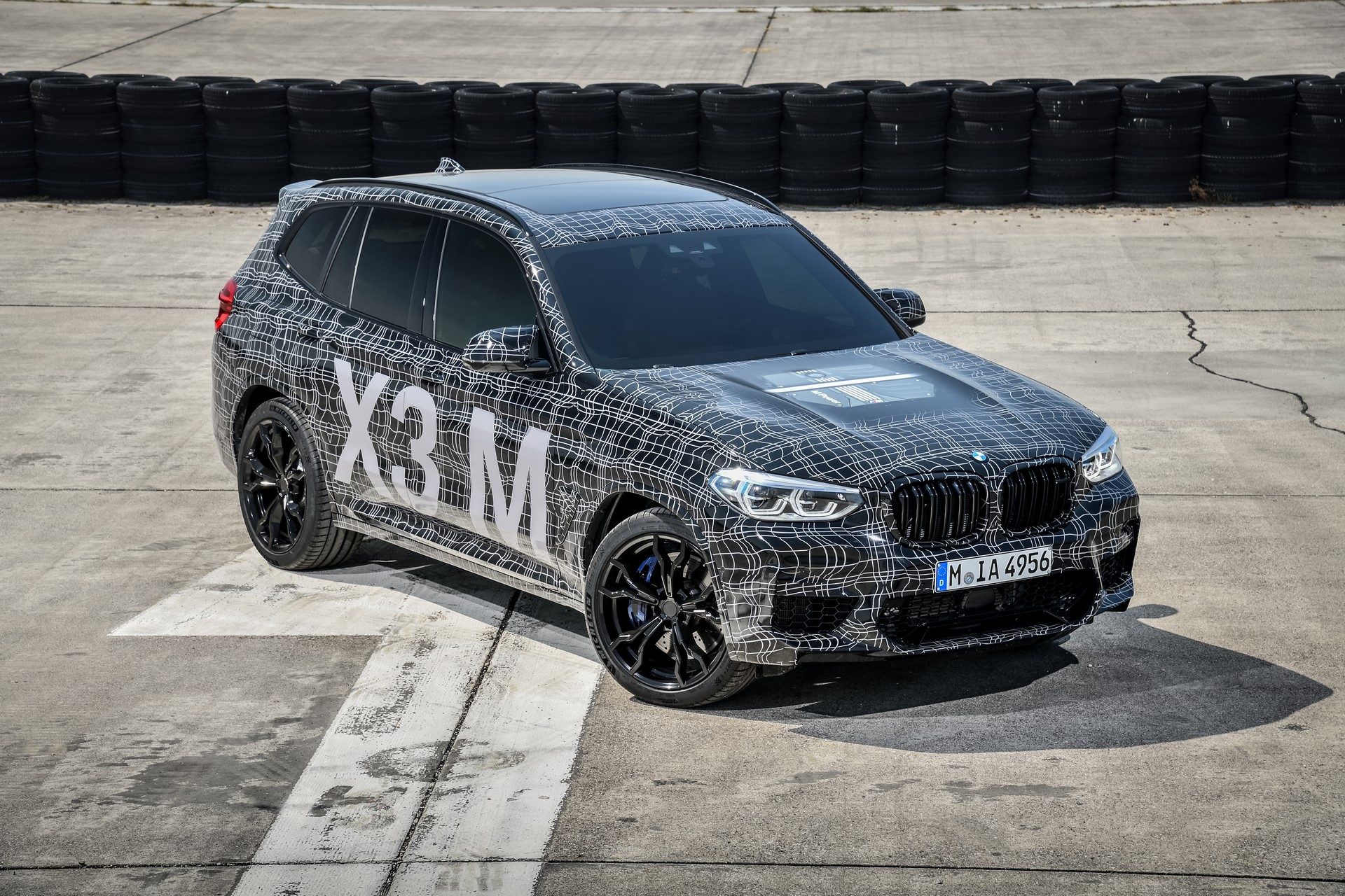 BMW X3 M and BMW X4 M at Nurburgring (5)