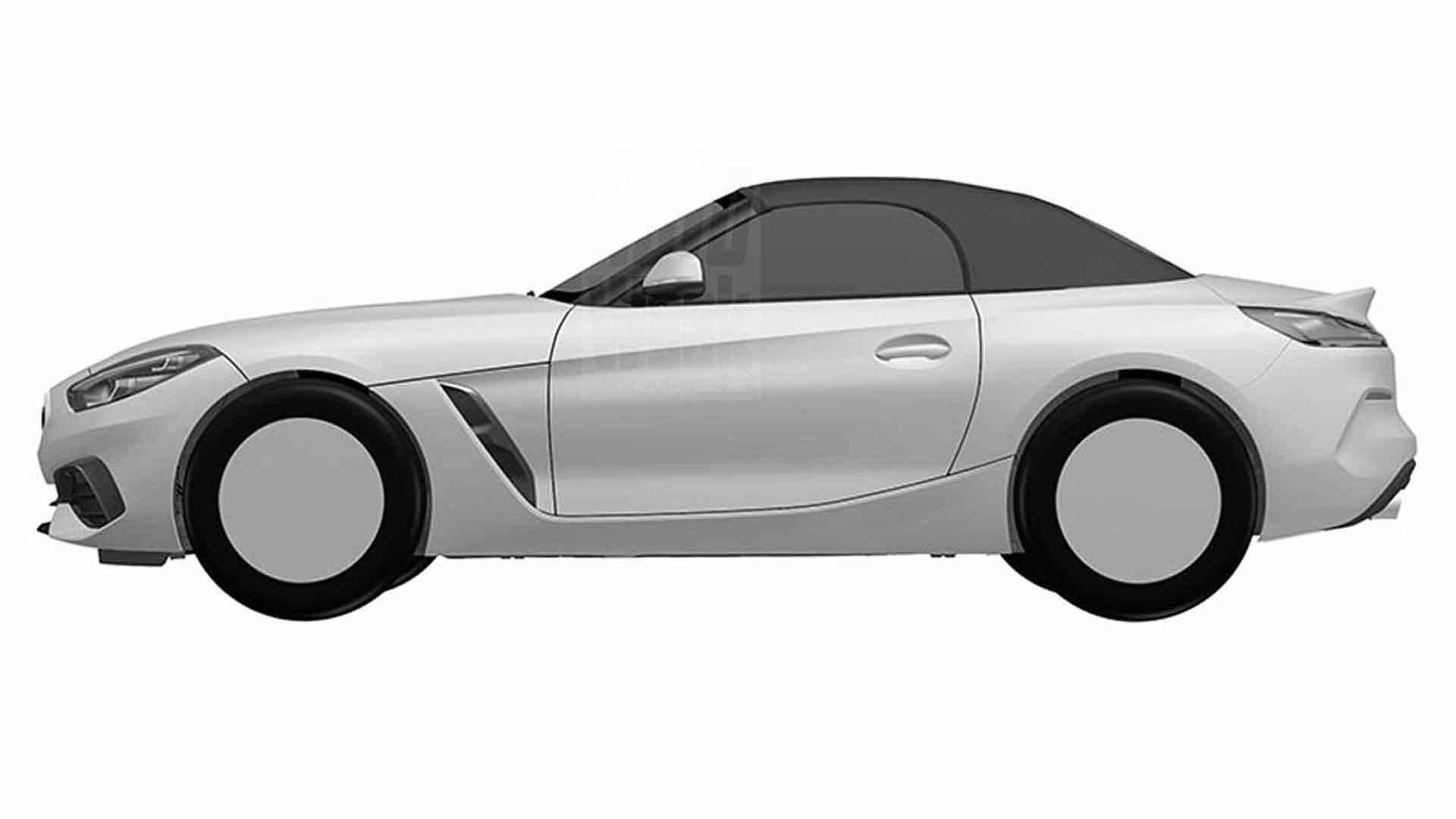 BMW Z4 Design Registration sketches (1)