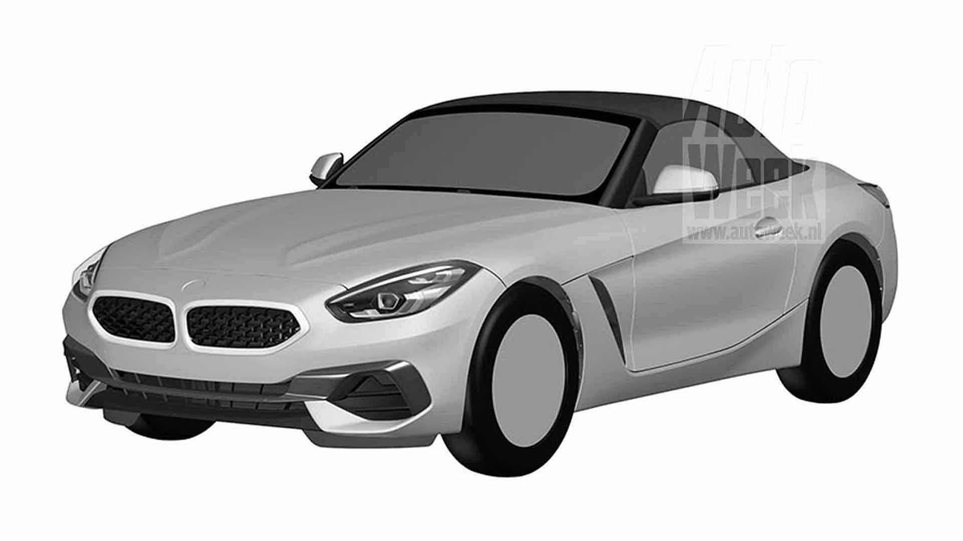 BMW Z4 Design Registration sketches (2)
