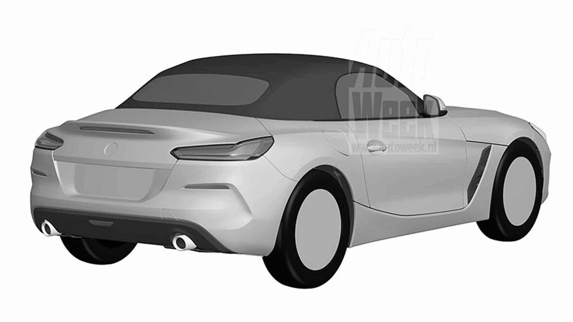 BMW Z4 Design Registration sketches (5)