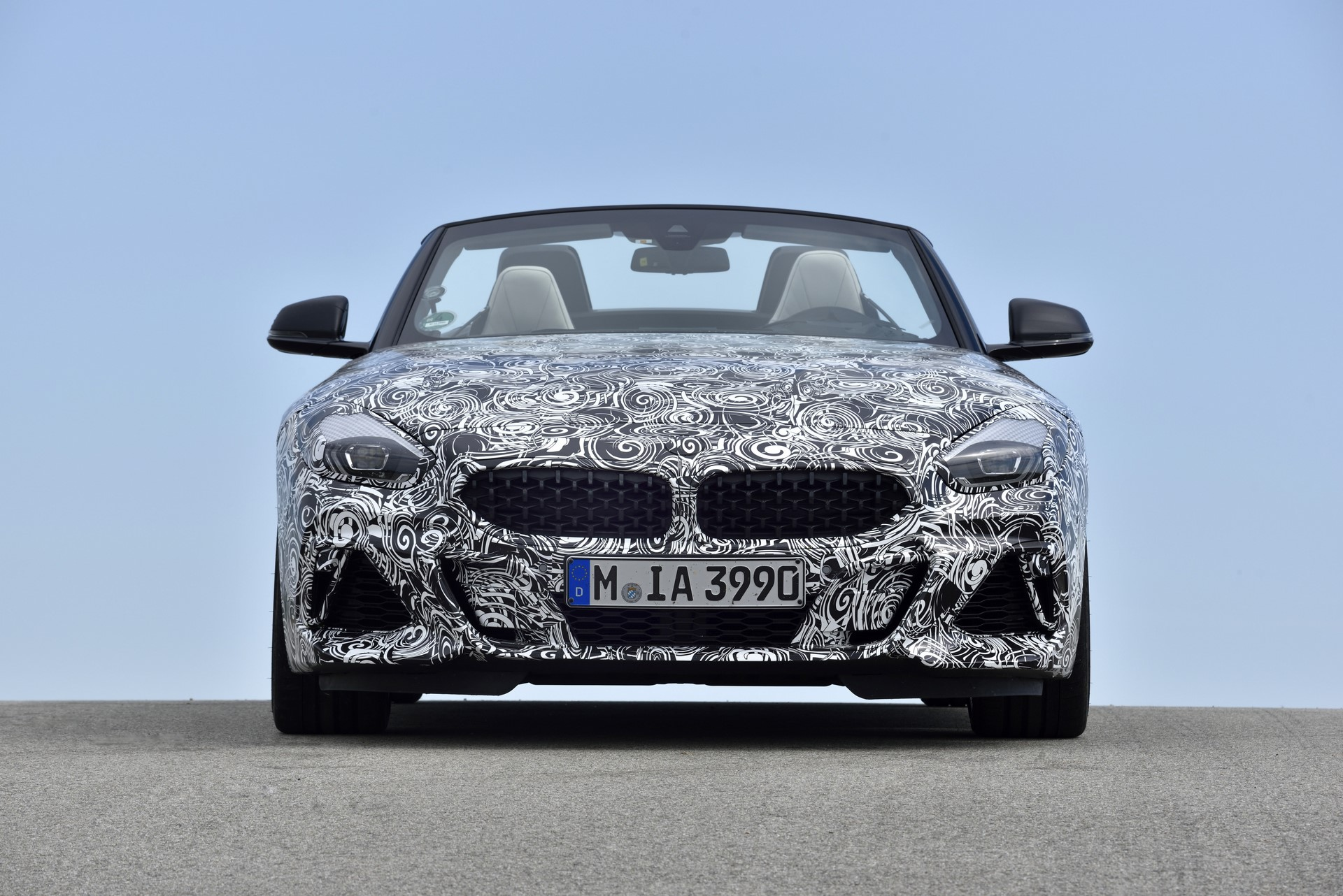 BMW Z4 M40i 2019 official spy photos (42)