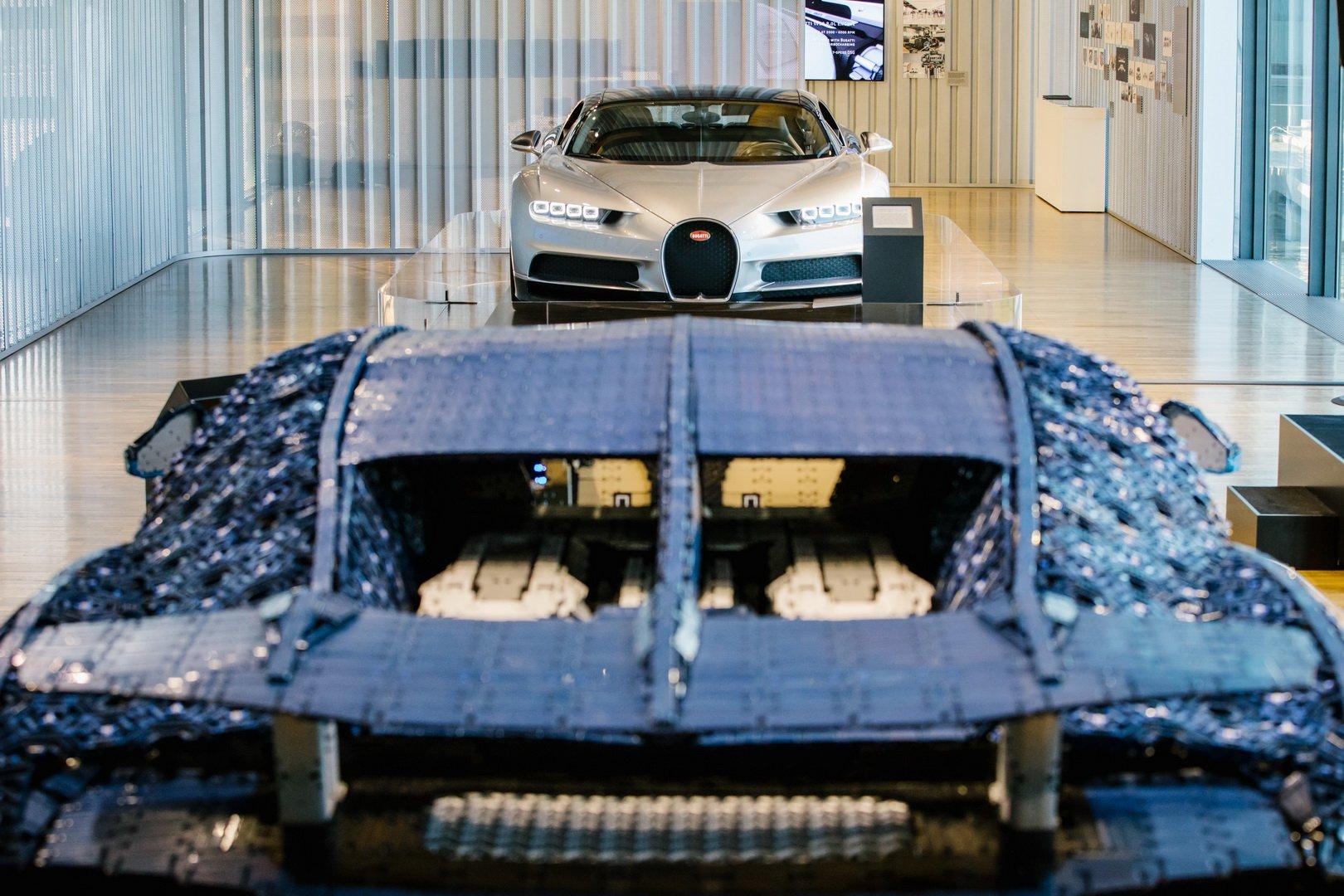 Bugatti Chiron Lego at VW Zeithaus Museum (3)