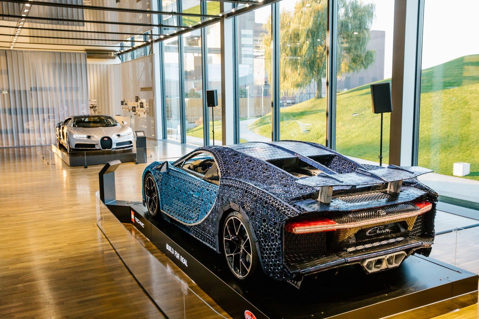 Bugatti Chiron Lego at VW Zeithaus Museum (4)