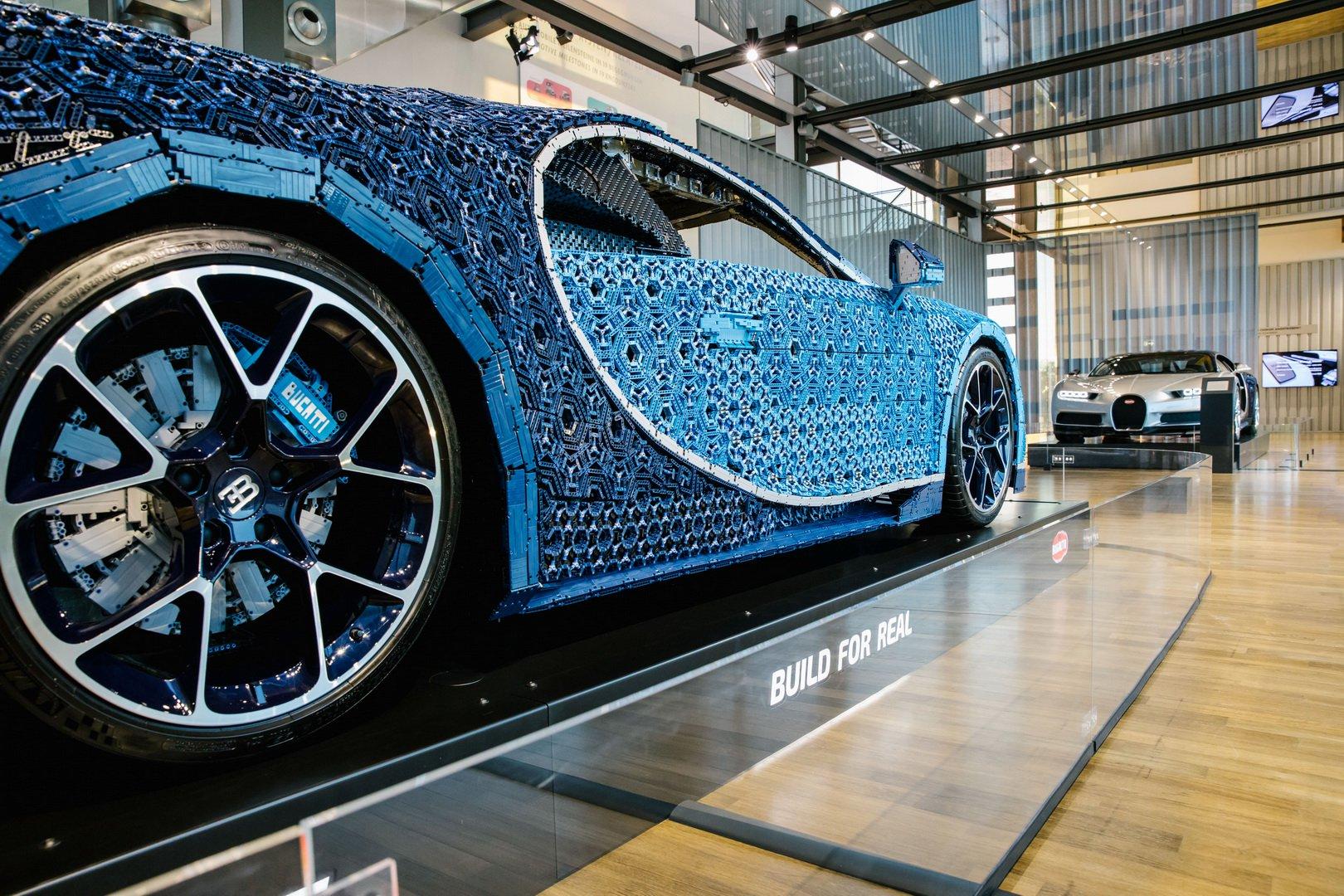 Bugatti Chiron Lego at VW Zeithaus Museum (5)