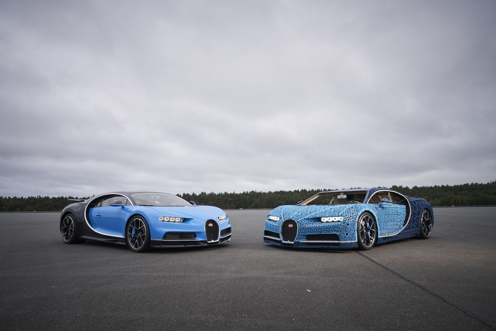 Bugatti Chiron Life-Size Lego Technic (15)