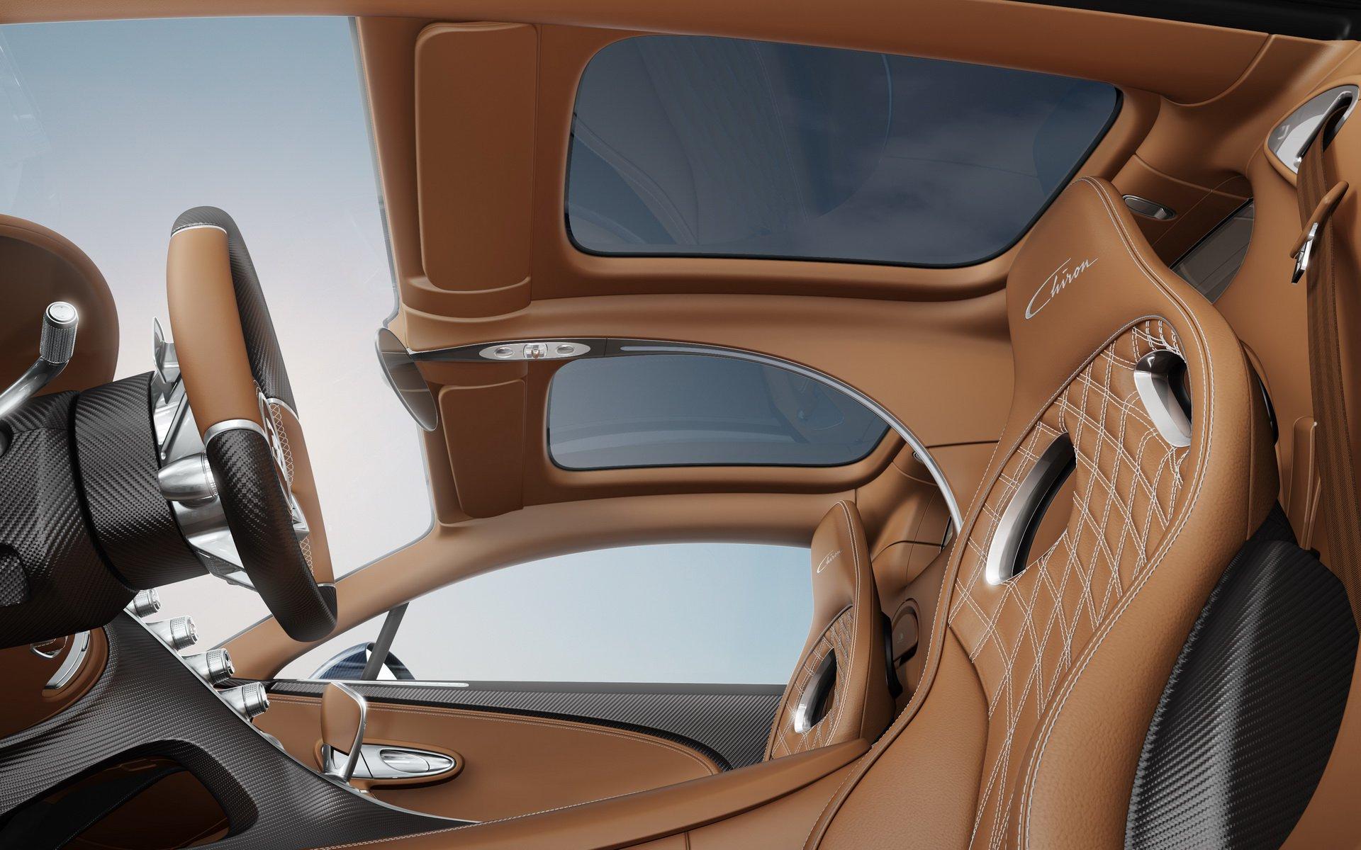 Bugatti Chiron Sky View glass roof (3)