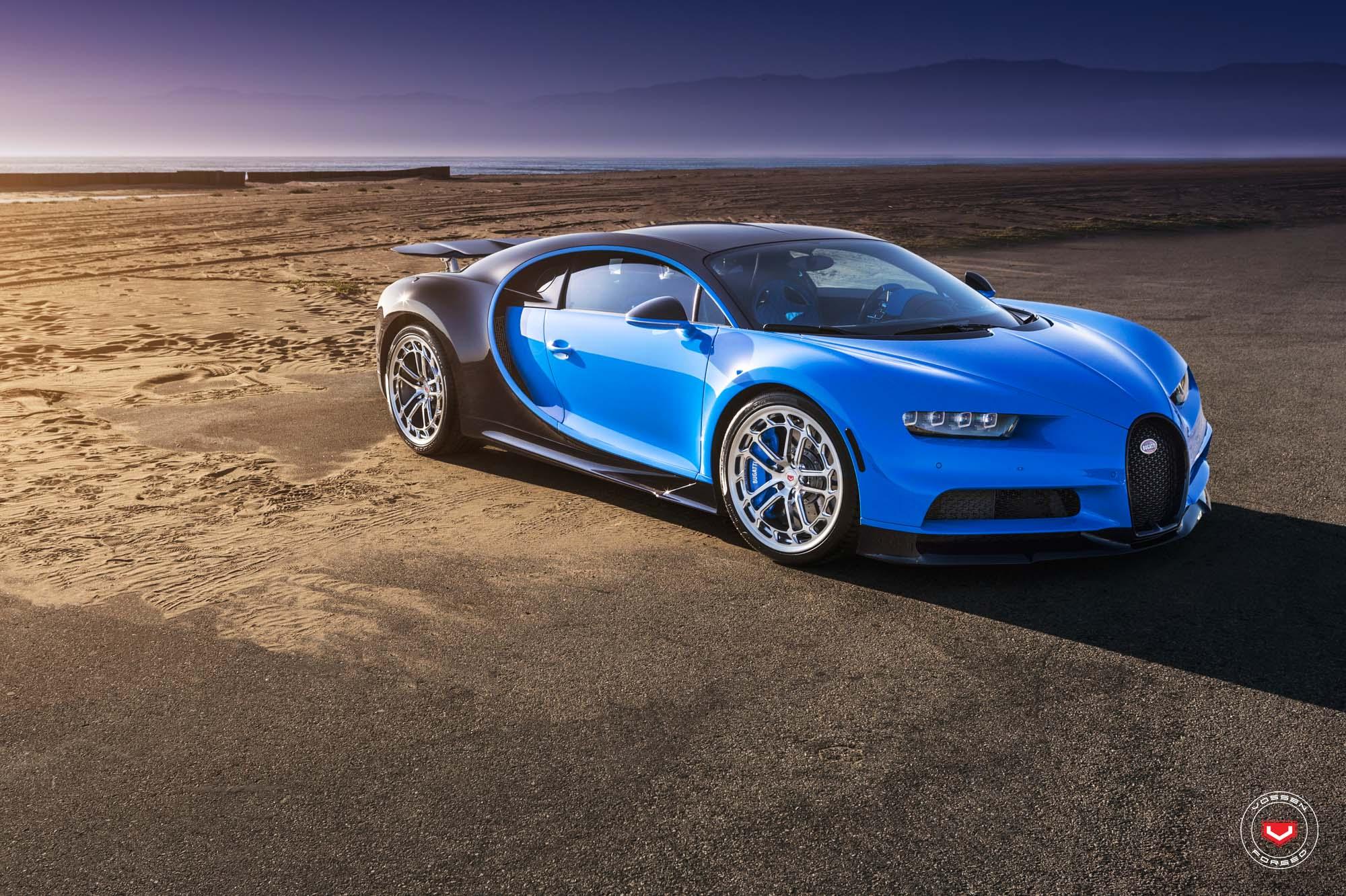 Bugatti Chiron with Vossen wheels (1)