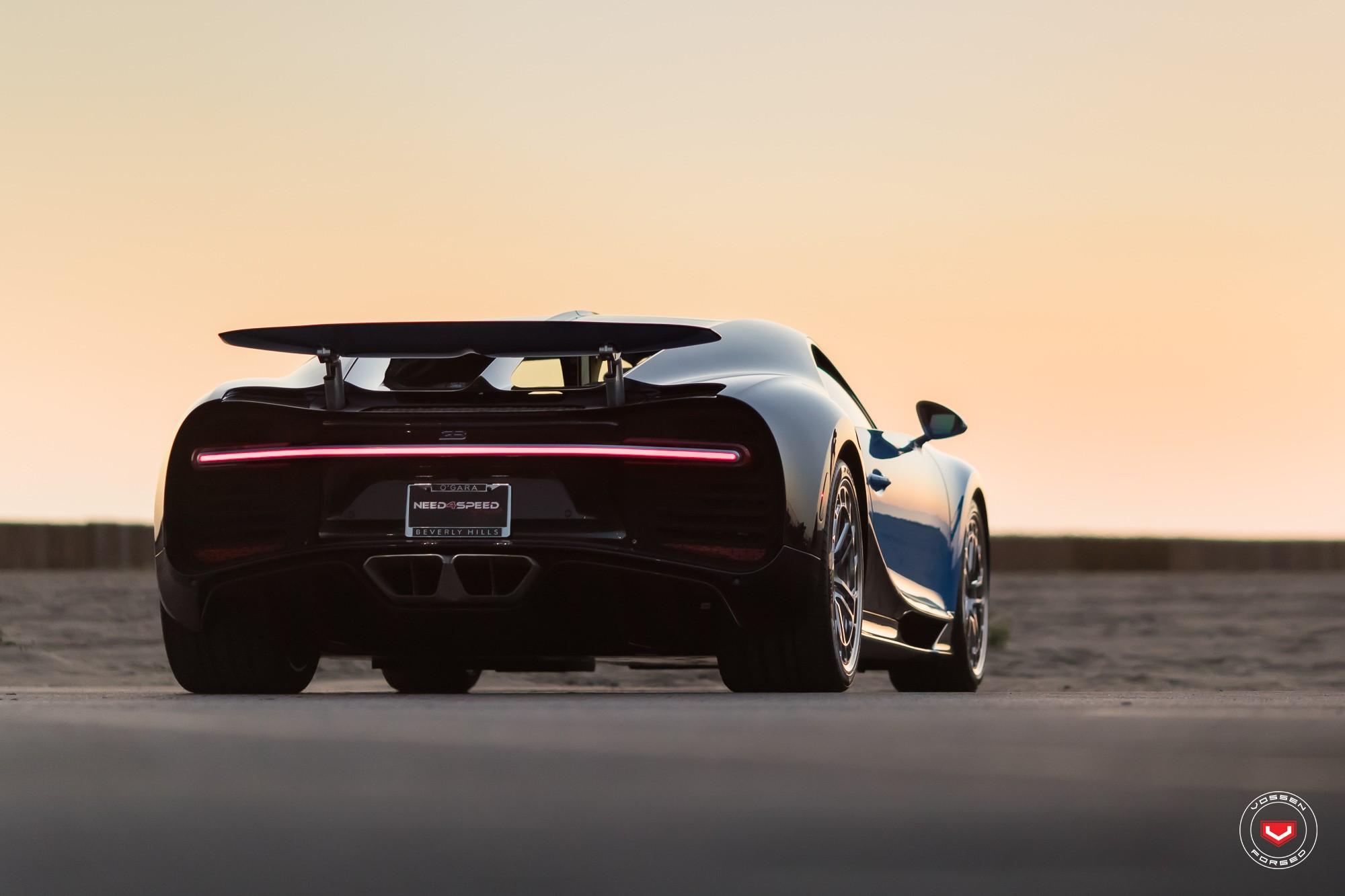 Bugatti Chiron with Vossen wheels (16)