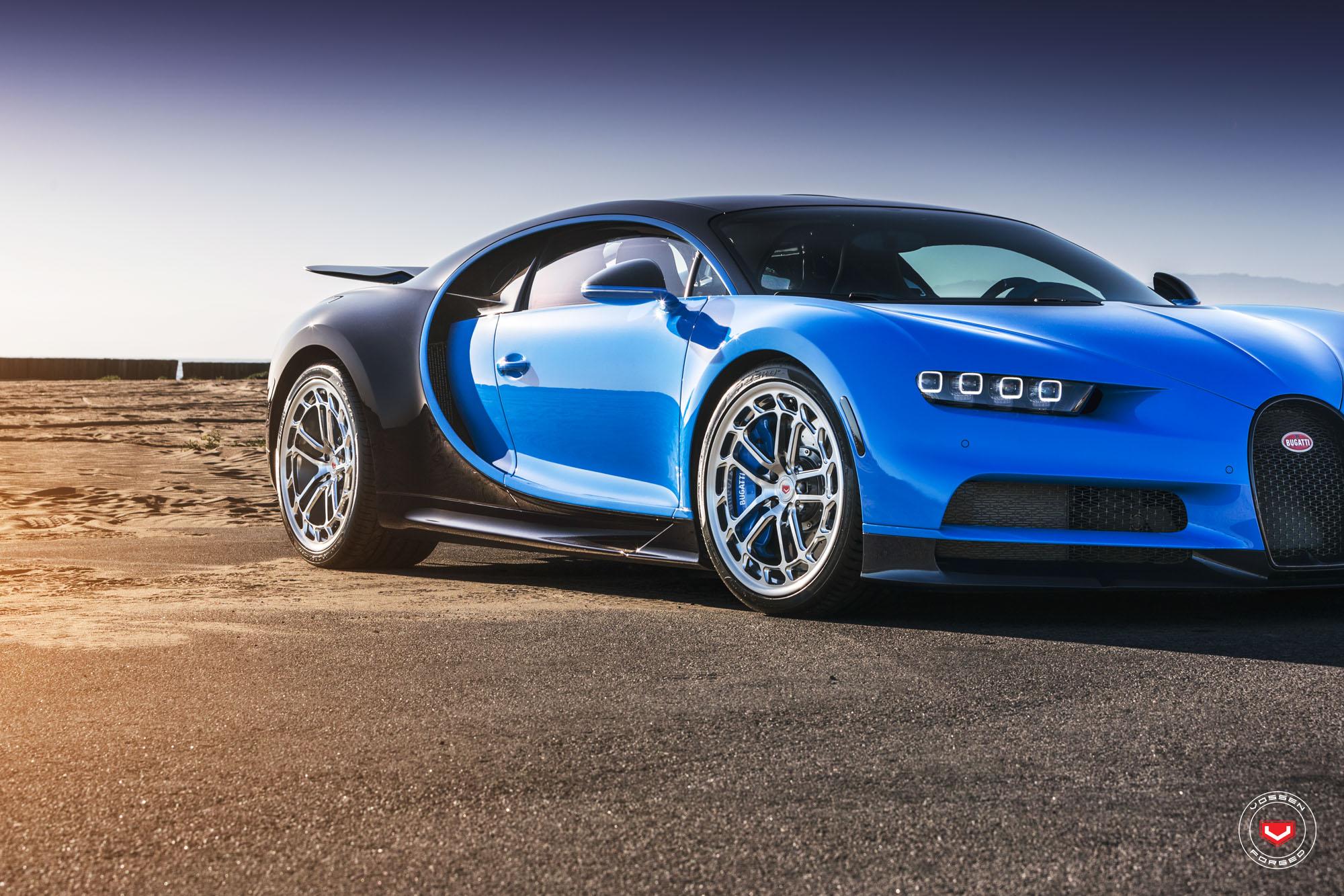 Bugatti Chiron with Vossen wheels (2)
