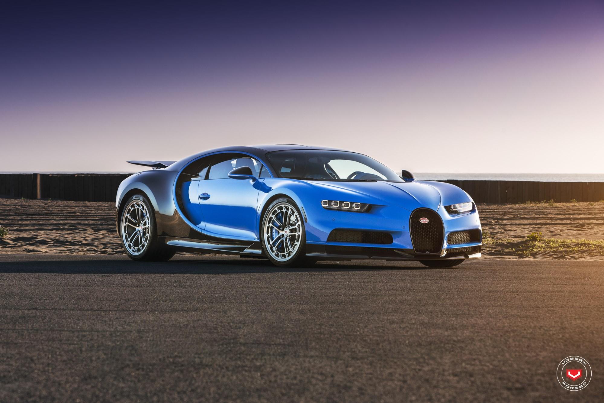 Bugatti Chiron with Vossen wheels (4)