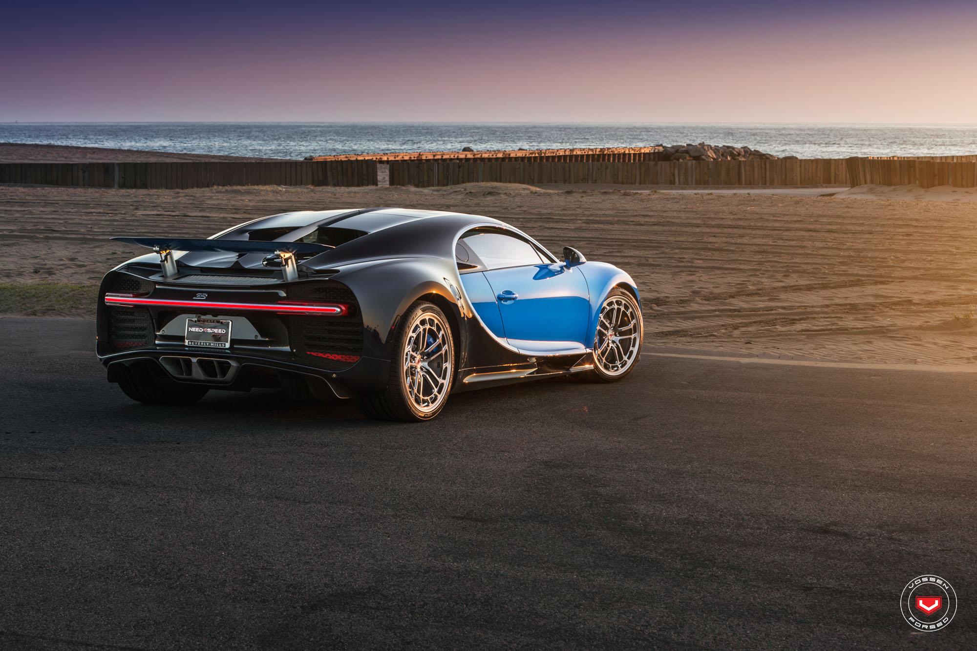 Bugatti Chiron with Vossen wheels (6)